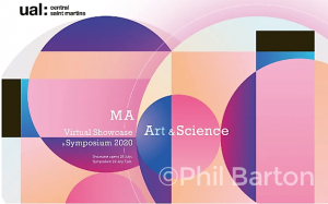 Logo for MA Art & Science Showcase