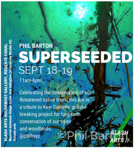 Poster for Superseeded pop up show